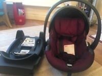 stokke be safe car seat and be safe isofix base