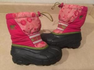 0b7437c47138 Girls Size 12 Sorel Insulated Winter Boots