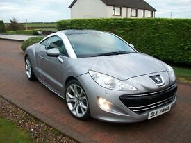 2010 PEUGEOT RCZ GT THP 200 **43000** GENUINE MILES LOVELY EXAMPLE