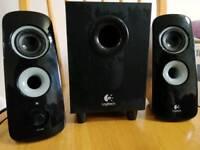 Logitech 2.1 speaker for sale