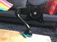 Monitor Desk Mount / Arm for 13-27 inch screen with VESA mounts - Excellent Condition