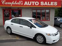 2010 Honda Civic AUTOMATIC!! PW !! CD!! NEWLY INSPECTED!!