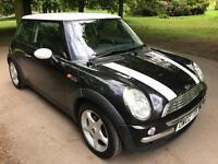 2002 MINI Hatch 1.6 Cooper 3dr 8 STAMPS IN SERVICE WHITE ROOF 12 MOT