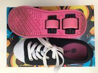 Heelys X2 Dual Up Black/Pink Size 12