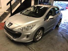 2008 Peugeot 308 1.6 VTi Sport 5dr - Mot March 2019 - hpi clear - Px accepted - 3 Months Warranty