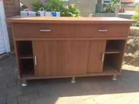 Sideboard and side unit