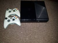 xbox 360 e console games and pads