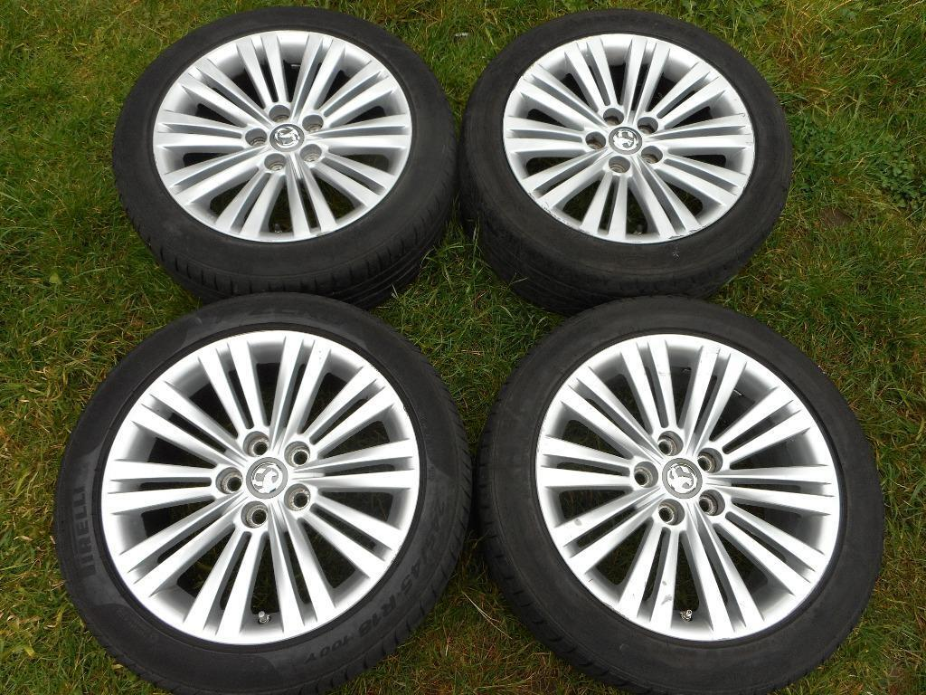 "Used Rims For Sale Near Me >> VAUXHALL INSIGNIA 18"" ALLOY WHEELS 