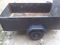 Car trailer wanted for tip runs don't mind some repairs work