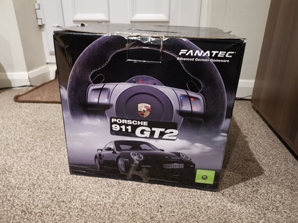 Fanatec GT2 steering wheel + ClubSport Table Clamp V2 + shifters -  PC/Xbox360/PS3 | in Rustington, West Sussex | Gumtree