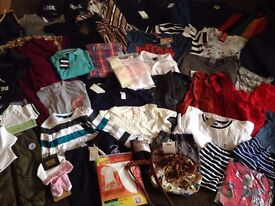 JOBLOT OF Mixed Clothing Childrens Womens Mens Inc Designer names Ideal for resale / Gifts