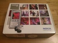 Nokia N91 4GB chrome slider smartphone high quality music player, boxed, accessories, vg condition