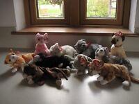 Ty Beanie Baby Cats