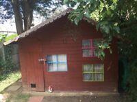 Large garden playhouse