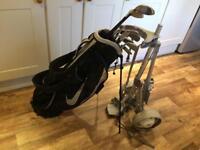 Nike Pro Combo Golf clubs set, bag, wood set