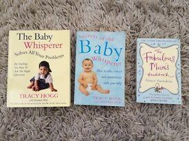 Baby Whisperer books and Fabulous Mum Handbook