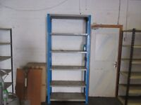 dexion single stand alone bay with 6 shelfs