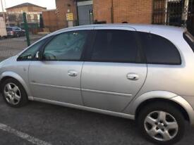 Vauxhall meriva 1.7 diesel