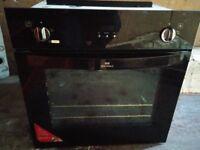 New World nw602mf Single Electric Fan Oven in Black