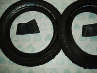 2 Schwalbe small tyres.