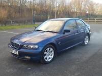 2003 BMW 316 ti. ✅ low milage ✅ 12 months mot . Compact couple bargain