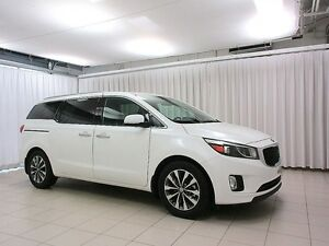 2016 Kia Sedona SX+ MINIVAN 7PASS w/  HEATED SEATS, BACK UP CAM