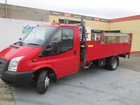 2012 transit twin wheel pickup with tail lift and tacho f/s/h price to sell in our dec sale £6500