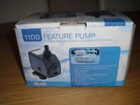 Fountain Pump (1080 L/hr). Suitable for Indoor and Outdoor water features.