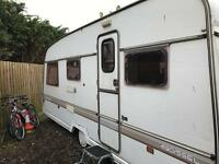 *SCRAPS OR SPARES* Swift 6 Berth Caravan