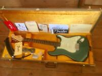 Fender American Vintage '59 Reissue' Stratocaster (AVRI) - Sherwood Green - Case and Candy!