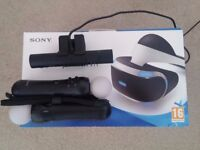 Playstation VR with camera and Move Controllers