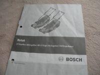 Bosch 43 Ergoflex Electric Mower
