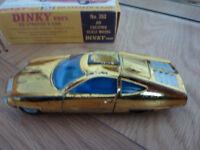 Dinky Ed Strakers Car from UFO tv series corgi matchbox solido model