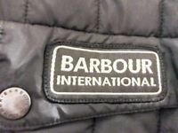 Barbour International Jacket UNISEX Black only worn 4 Times medium