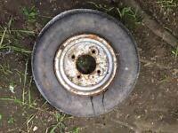 Trailer wheel rim. 10 inch - £10 contact 07763119188