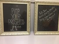 Wedding decorations - Signs - Prosecco and Party!