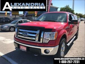 2009 Ford F-150 XLT FX4 safety included 4x4