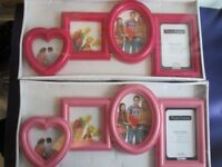 2x Picture Frames
