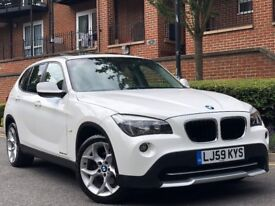 59 REG BMW X1 20d SE S DRIVE MANUAL PAN ROOF 99K *VERY HIGH SPEC* /IMMACULATE IN AND OUT