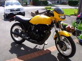 Kawasaki GPZ 550 A3 Special. previous owner built it for classic bike racing