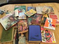 Selection of old books all in good condition
