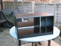 """Black ash TV stand, good condition. Size 29"""" x 16"""" x 16"""" FREE"""