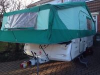 CONWAY OR PENNINE FOLDING CAMPER WANTED 4 - 6 BERTH