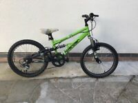 Apollo Xpander boys mountain bike 20 in wheels 12 in frame 6 gears Eastwood Nottinghamshire