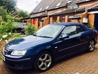 Saab 1.8T Vector Auto Convertible**150 Bhp **12 month MOT**Only 83000 miles £1599, Serviced