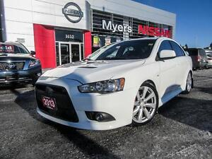 2013 Mitsubishi Lancer RALLI-ART , AWD, PADDLE SHIFT, HEATED SEA
