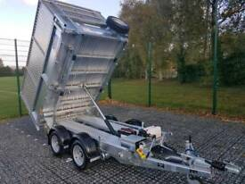 IFOR WILLIAMS TRAILER TIPPER TIPPING TRAILOR TT2515 8X5 IVOR WILLIAMS PLANT GARDENER
