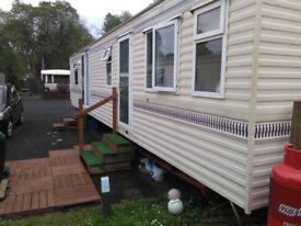 Static Canterbury Willerby Caravan