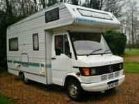 Mercedes 208D turbo motor home caravan