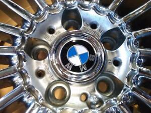 """21"""" BMW STAGGERED SUMMER SET (7and 6SERIES)5X120 FACTORY CHROME RIMS WITH PIRELLI PZERO USED FOR SALE"""
